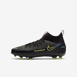 Nike Jr. Phantom GT Academy Dynamic Fit MG Voetbalschoen voor kleuters/kids (meerdere ondergronden)