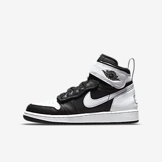 Air Jordan 1 Hi FlyEase Sko til større børn