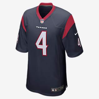 NFL Houston Texans (Deshaun Watson) Ανδρική φανέλα αμερικανικού ποδοσφαίρου