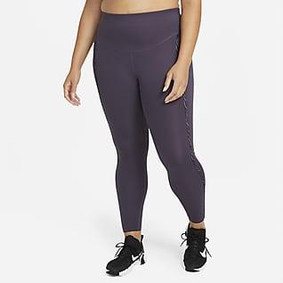 Nike One Luxe Icon Clash Women's Mid-Rise 7/8 Leggings (Plus Size)