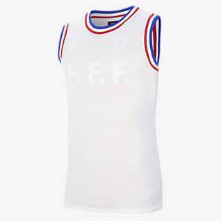 FFF Haut de basketball sans manches pour Homme