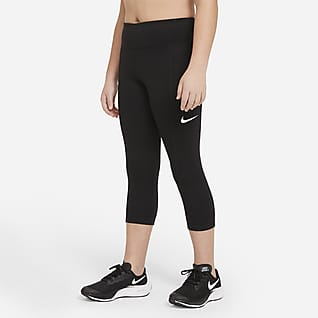 Nike Trophy Capris de entrenamiento para niñas talla grande (talla extendida)