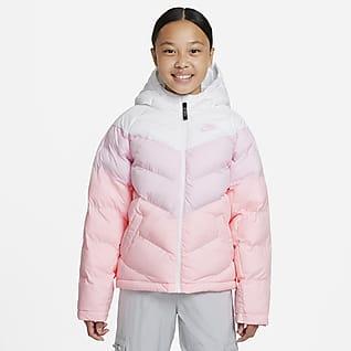 Nike Sportswear Chamarra con relleno sintético para niños talla grande
