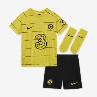 Chelsea F.C. 2021/22 Away Baby & Toddler Football Kit