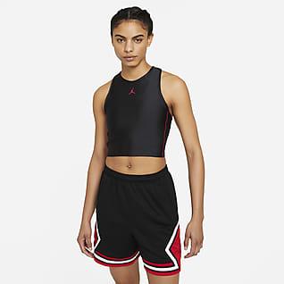 Jordan Essentials Γυναικεία μπλούζα crop
