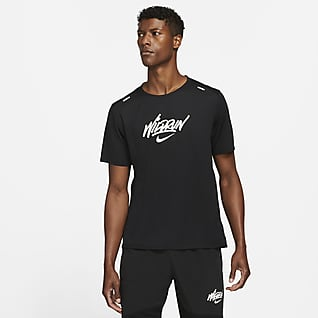 Nike Rise 365 Wild Run Мужская беговая футболка с коротким рукавом