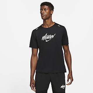 Nike Rise 365 Wild Run Kortärmad löpartröja för män