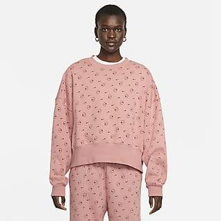 Nike Sportswear Sudadera de tejido Fleece con estampado - Mujer