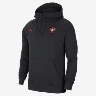 Portugal Sweat à capuche de football en tissu Fleece pour Homme