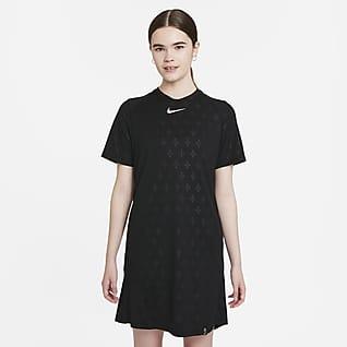 Paris Saint-Germain Damska sukienka piłkarska z dżerseju Nike Dri-FIT
