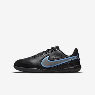 Nike Jr. Tiempo Legend 9 Academy IC รองเท้าฟุตบอลเด็กเล็ก/โตสำหรับสนามในร่ม/คอร์ท