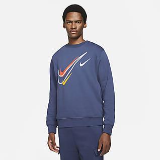 Nike Sportswear Fleecetröja för män