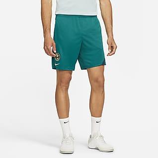 Club América Academy Pro Shorts de fútbol de tejido Knit para hombre