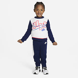 Nike Toddler Color-Block Crew and Joggers Set