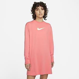 Nike Sportswear Women's Long-Sleeve Dance Dress