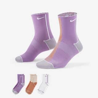 Nike Everyday Plus Lightweight Ankle 女子训练运动袜(3 双)