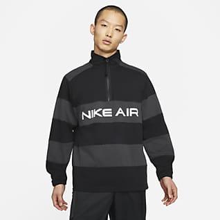 Nike Air Мужской средний слой с молнией на половину длины