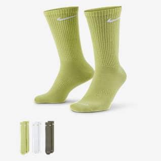 Nike Everyday Plus Lightweight 男款訓練中筒襪 (3 雙)
