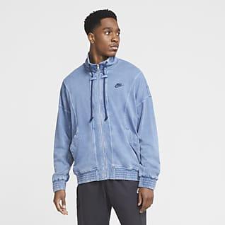 Nike Sportswear Casaco de malha com efeito lavado para homem