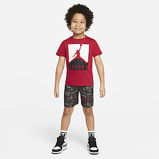 Jordan Little Kids' T-Shirt and Shorts Set