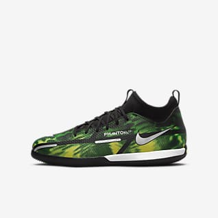 Nike Jr. Phantom GT2 Academy Dynamic Fit IC Chaussures de football en salle pour Jeune enfant/Enfant plus âgé