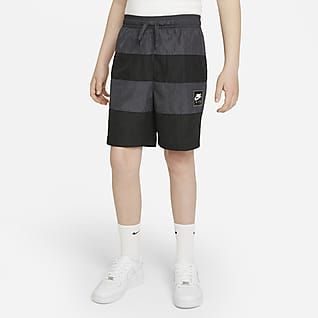 Nike Air Shorts tejidos para niños talla grande