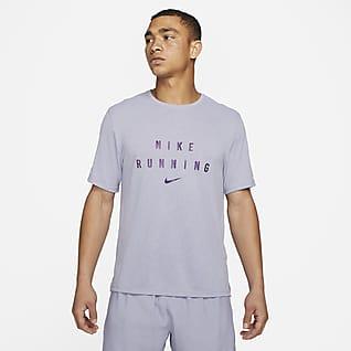Nike Dri-FIT Miler Run Division Samarreta de running - Home