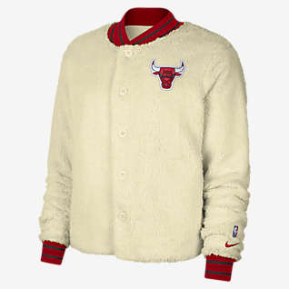Chicago Bulls Courtside Women's Nike NBA Bomber Jacket