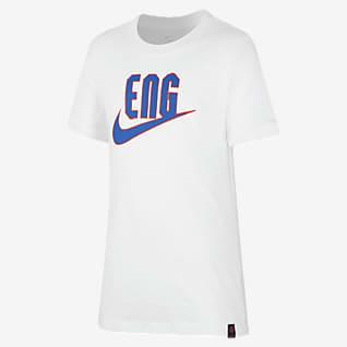 England Fußball-T-Shirt für ältere Kinder