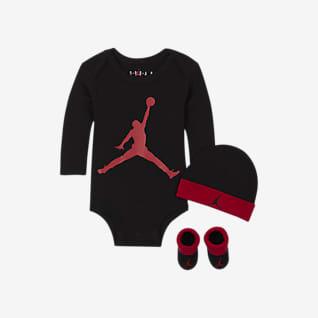 Jordan Completo body, berretto e scarpine - Neonati