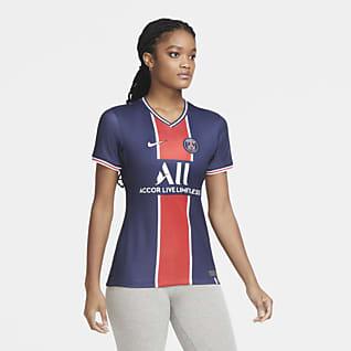 Paris Saint-Germain 2020/21 Stadium (hemmaställ) Fotbollströja för kvinnor