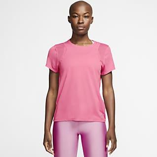 Nike Run เสื้อวิ่งแขนสั้นผู้หญิง