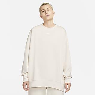 Nike Sportswear Collection Essentials Haut ultra-oversize en tissu Fleece pour Femme