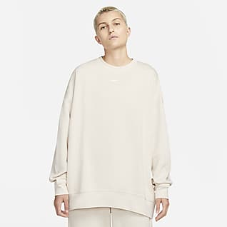 Nike Sportswear Collection Essentials Ekstra Bol Kesimli Fleece Kadın Crew Üstü
