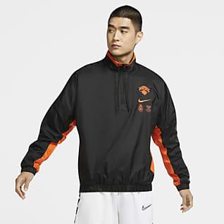 New York Knicks Courtside Men's Nike NBA Tracksuit Jacket