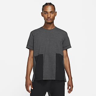 Nike Yoga Dri-FIT Camisola de manga curta para homem