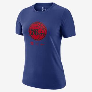 Philadelphia 76ers Logo Women's Nike Dri-FIT NBA T-Shirt