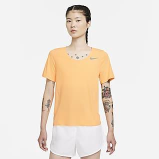 Nike City Sleek 女款短袖跑步上衣