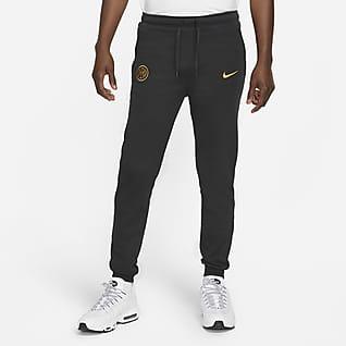 Inter Mediolan Męskie spodnie piłkarskie z dzianiny Nike Dri-FIT