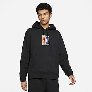 Nike SB Mønstret skate-hettegenser