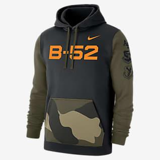 Nike College Club Fleece (Air Force) Sudadera con gorro camuflajeada para hombre