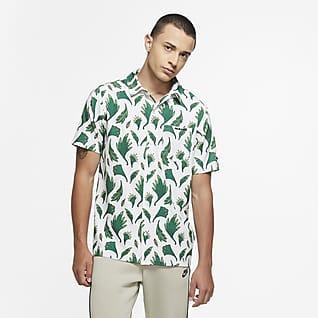 Nigeria Camiseta de skateboarding de tejido Woven para hombre