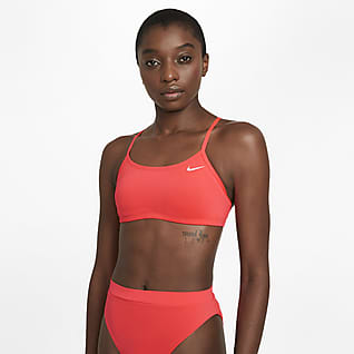 Nike Essential Parte de arriba de bikini con espalda cruzada - Mujer