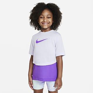 Nike Dri-FIT Trophy เสื้อเทรนนิ่งแขนสั้นเด็กโต (หญิง)