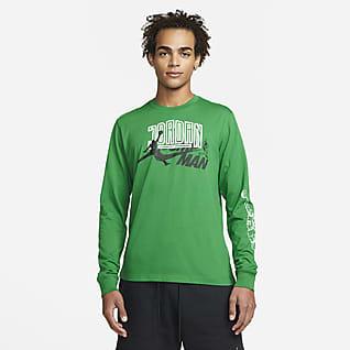 Jordan Brand Uzun Kollu Erkek Tişörtü