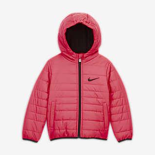 Nike Puffer-Jacke mit durchgehendem Reißverschluss für Kleinkinder