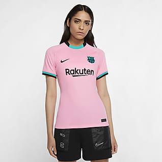 FC Barcelona alternativa Stadium 2020/21 Camiseta de fútbol para mujer
