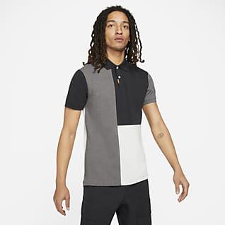 Nike Polo Renk Bloklu Dar Kesimli Erkek Polo Üst