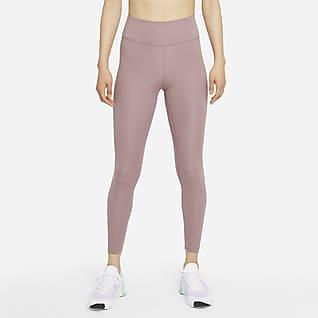 Nike Dri-FIT One เลกกิ้งเอวปานกลางผู้หญิง