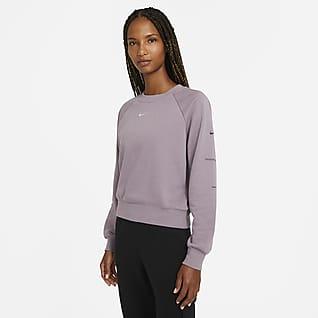 Nike Sportswear Swoosh Sudadera de cuello redondo French Terry para mujer